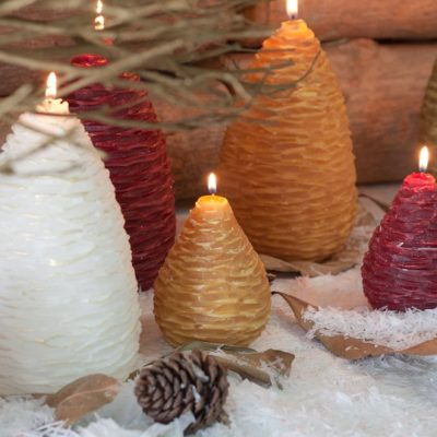 Vance Kitira – The Making of our Pine Cone Candles
